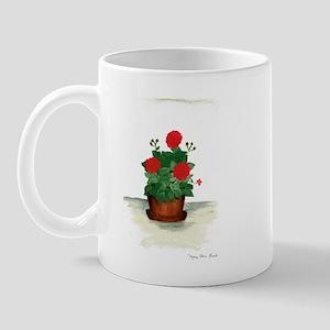 Potted Geraniums Mug