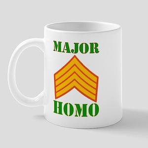 Major Homo Mug