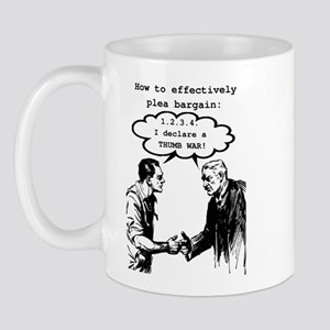 Plea Bargaining Mugs
