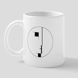 BAUHAUS LOGO Mugs