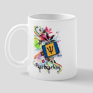 Flower Barbados Mug