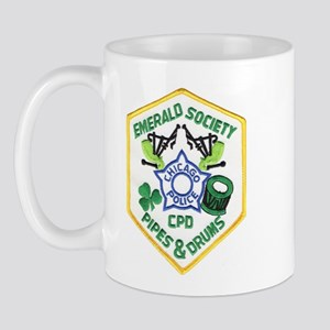 Chicago PD Pipes & Drums Mug