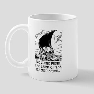 THE LAND OF ICE AND SNOW Mug