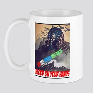Blood on your hands Mug