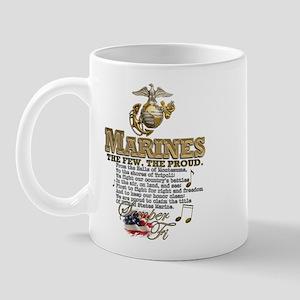 Stanza 1 - Marines' Hymn Mug