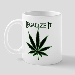Legalize It Marijuana Mug