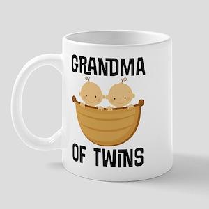Grandma Of Twin Boys Mugs