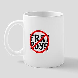 No Frat Boys Mug