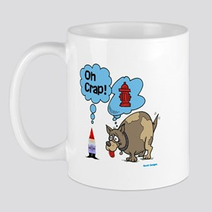 Gnome Visited by the Dog Mug