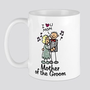 Cartoon Groom's Mother Mug