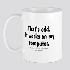 That's Odd... Mug