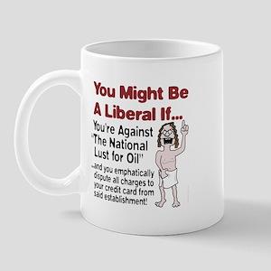 The National Lust for Oil Mug