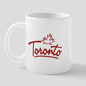 Toronto Leaf Script Mug