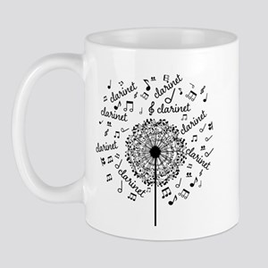 Clarinet Player Music Mugs