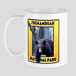 Shenandoah Nationl Park Bear Mug