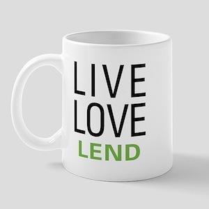 Live Love Lend Mug