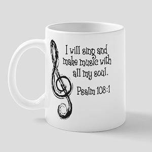 PSALM 108:1 Mug