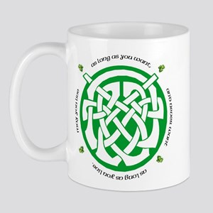 Irish Blessing (May you Live. Mug