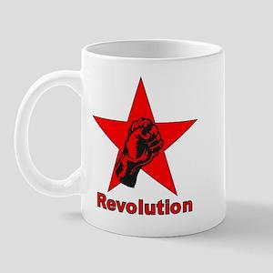 Commie Revolution Star Fist Mug