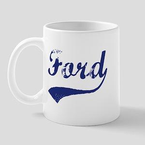 Ford - vintage (blue) Mug