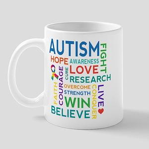 Autism Word Cloud Mug