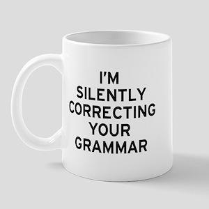 I'm Silently Grammar 11 oz Ceramic Mug