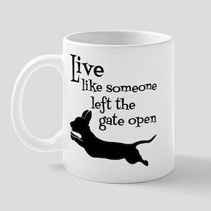 OPEN GATE! Mug
