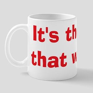 L Word theme words side 2 Mug