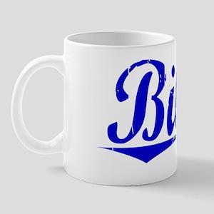 Biles, Blue, Aged Mug