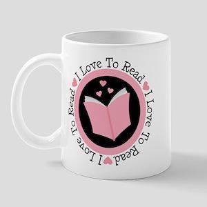 I Love To Read Books Mug
