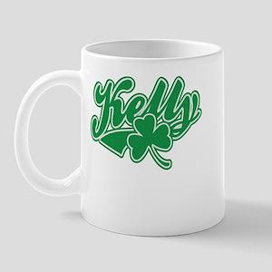 Kelly Irish Shamrock Mug