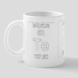 Tesla Element Symbols 2 Mug