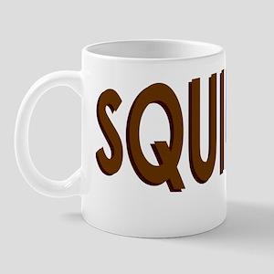 Squirrel-Front Mug