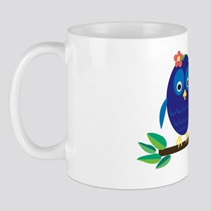 Mama Bird Owl Mug