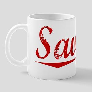 Savage, Vintage Red Mug