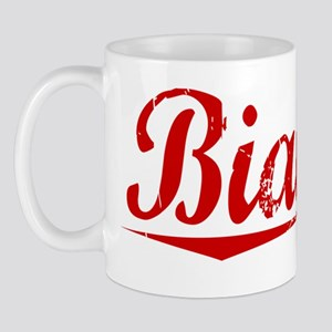 Bianchi, Vintage Red Mug