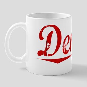 Denny, Vintage Red Mug