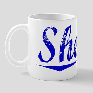 Sheetz, Blue, Aged Mug