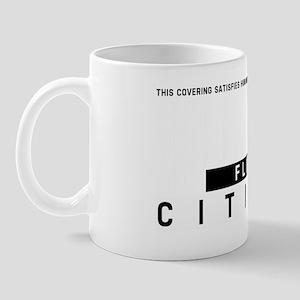 Flint, Citizen Barcode, Mug