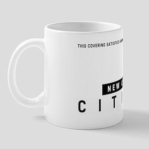 New Canada Citizen Barcode, Mug