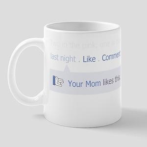 FBYourMomBlack Mug