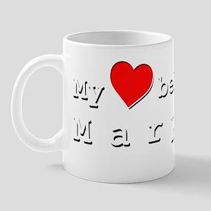 My Heart Belongs To Marylou Mug