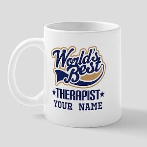 Worlds Best Therapist Custom Mugs