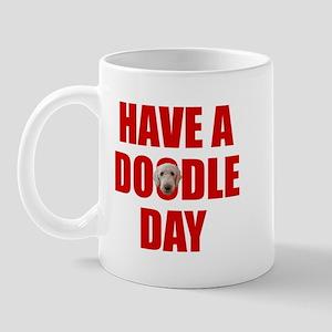 Have A Doodle Day Labradoodle Mug