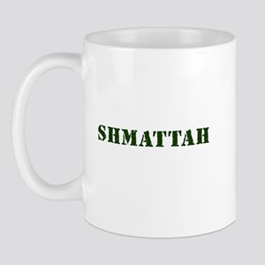 Jewish - Shmattah - Rag - Yiddish - Mug