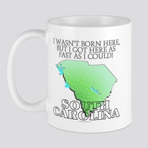 Got here fast! South Carolina Mug