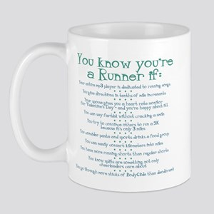 You Know You're a Runner If Mug