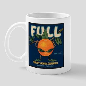 Orange Man Right-handed Mug