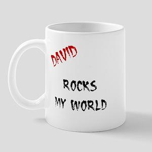 David Rocks Mug