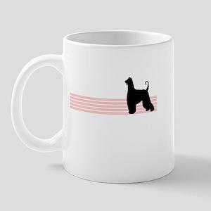 Retro Afghan Hound Mug